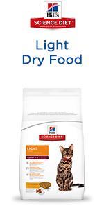 Science Diet Light Dry Cat Food ...