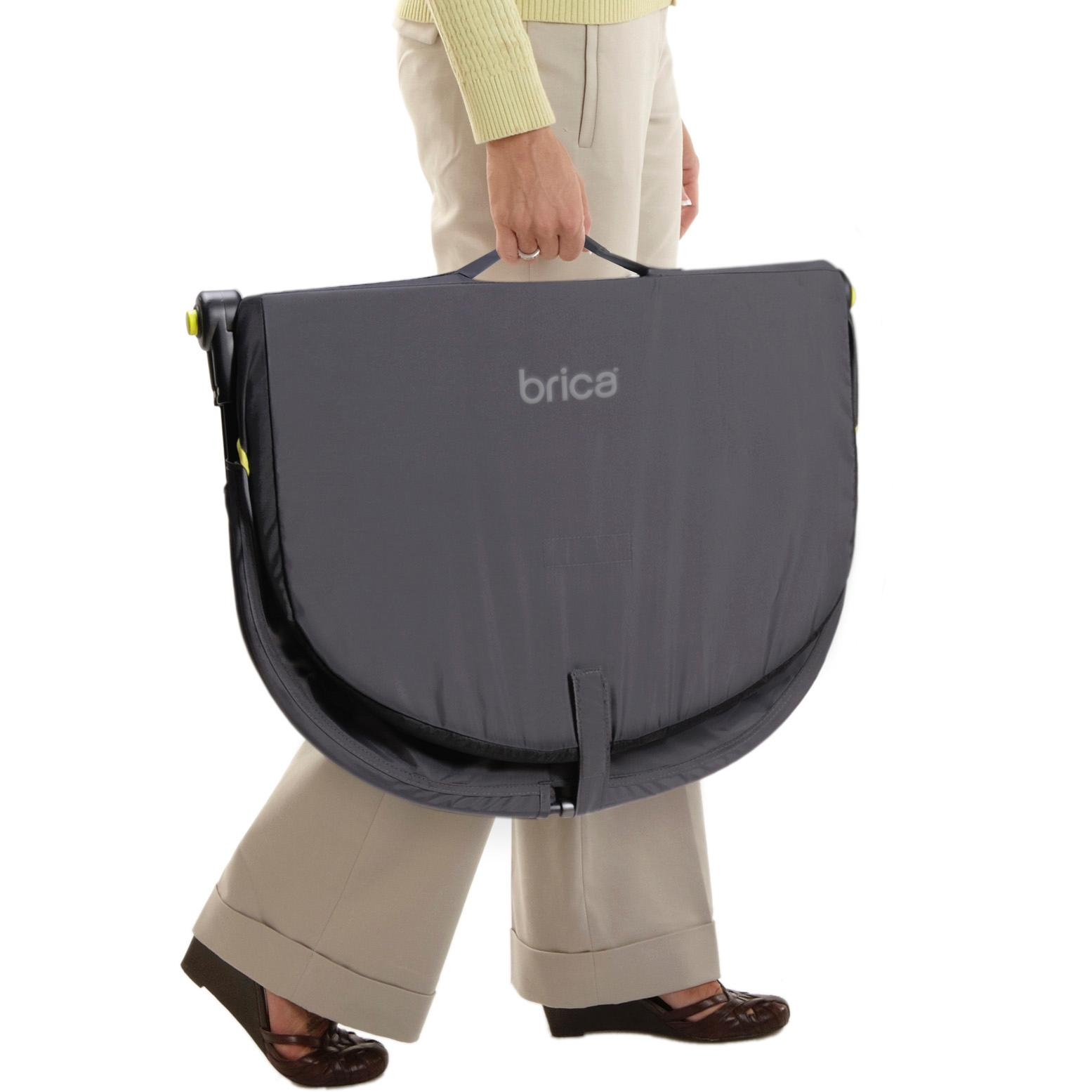 Amazon Com Brica Fold N Go Travel Bassinet Infant And Toddler Travel Beds Baby