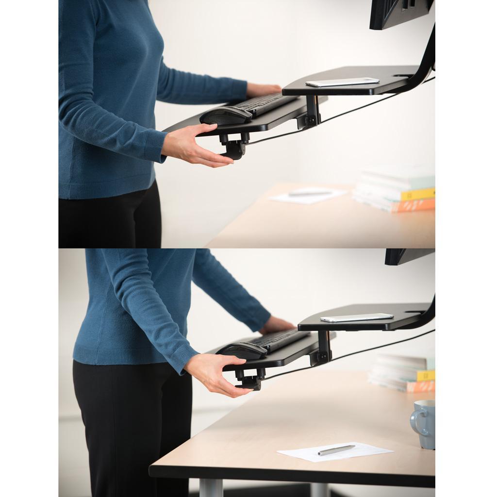 Amazon Com Kensington Smartfit Sit Stand Workstation