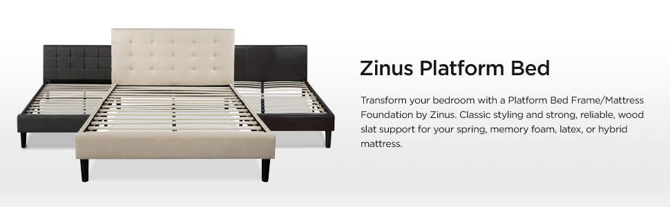 Amazon Com Zinus Ibidun Upholstered Button Tufted