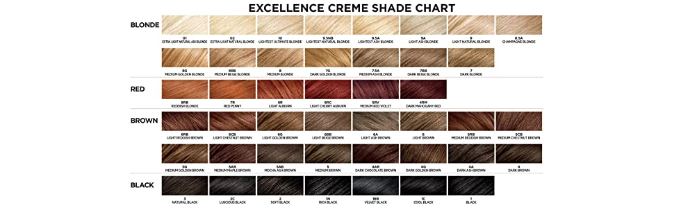 Buy Loreal Paris Excellence Crme Triple Protection Color Light