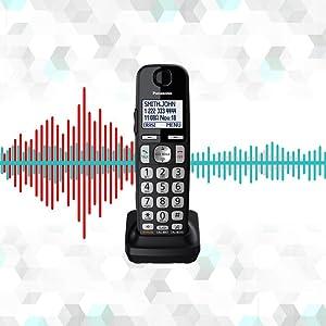 Panasonic KX-TGE433B noise reduction
