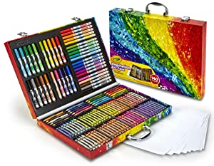 crayola inspiration art case what's included