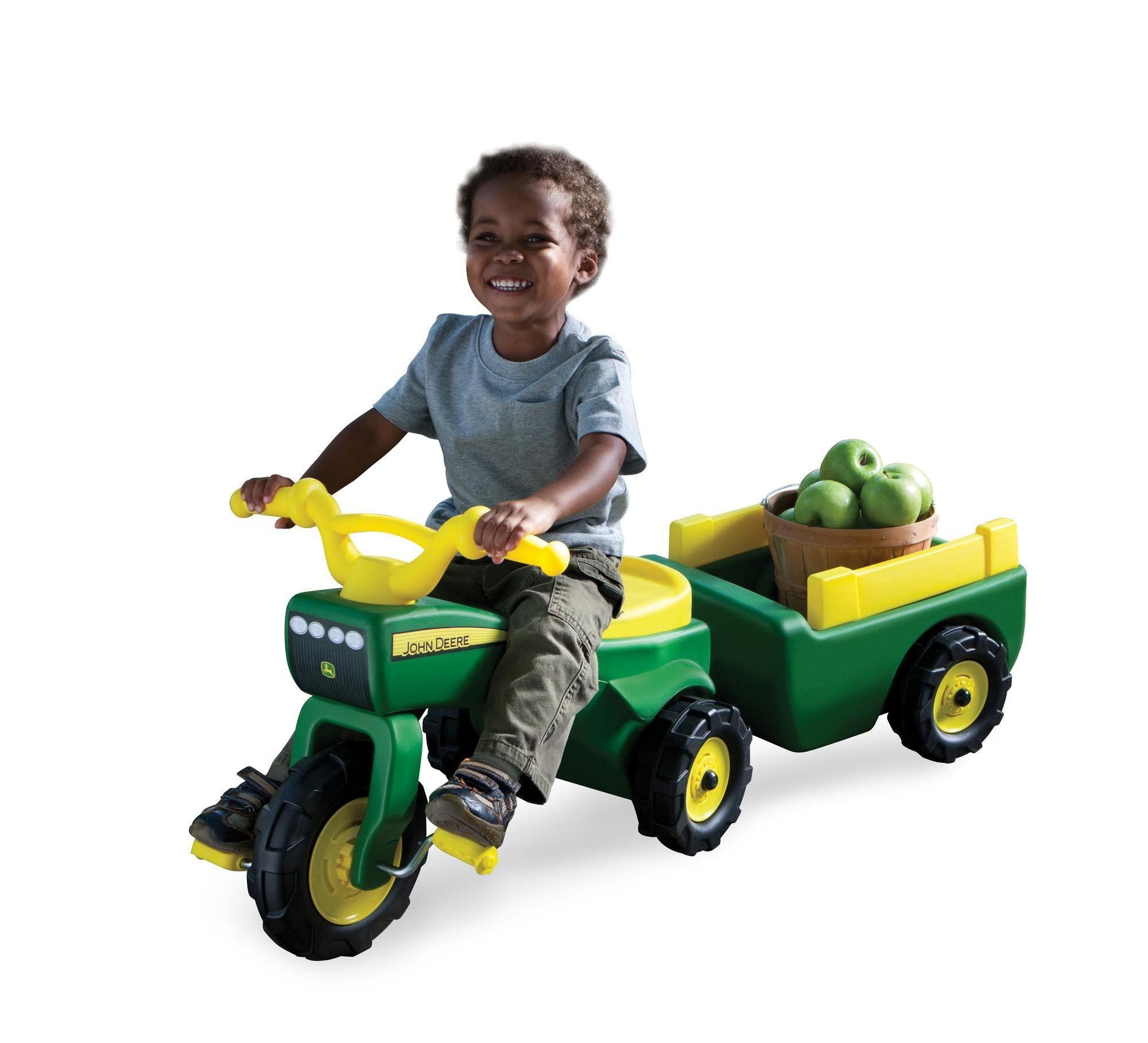 Amazon Com John Deere Pedal Tractor And Wagon Toys Games