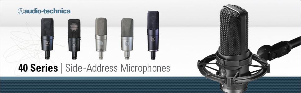 Audio-Technica AT4040 Large-diaphragm Condenser Microphone 5