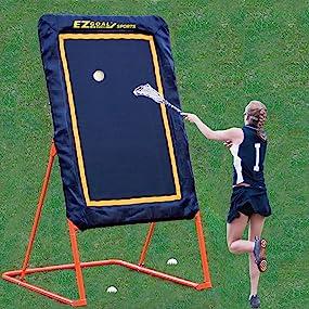 lacrosse, rebounder, lacrosse practice equipment