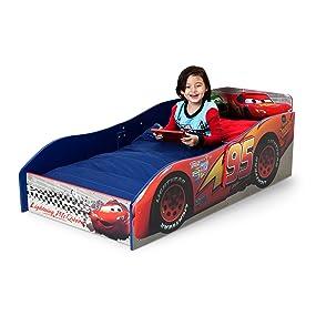 Delta Children Wood Toddler Bed Disney Pixar Cars Amazon