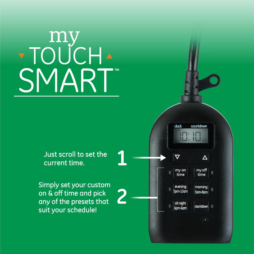 Mytouchsmart 26898 P1 Indoor And Outdoor Digital Timer