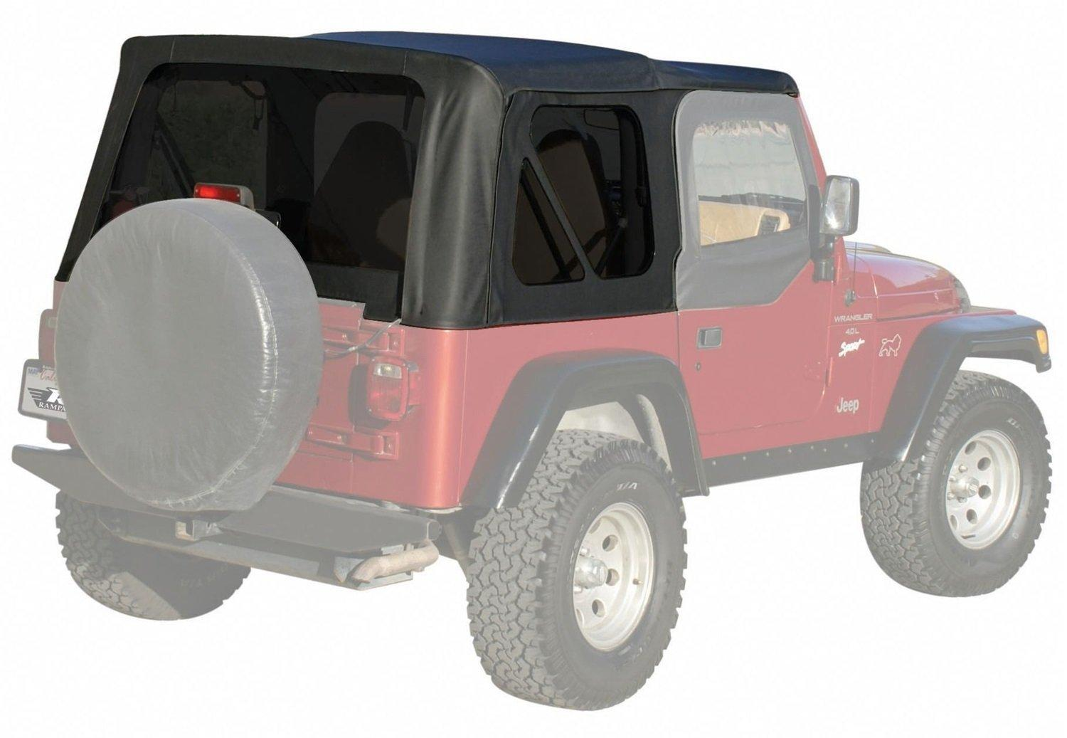 Jeep Wrangler Replacement Soft Top >> Amazon Com Rampage Products 99335 Factory Replacement Soft Top For