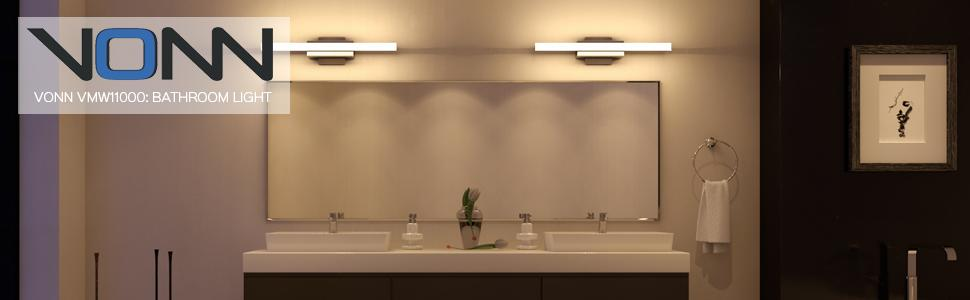 Led light bathroom light