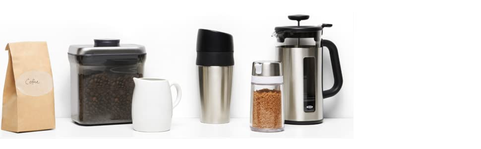 French Press Coffee Maker Cleaning : OXO Good Grips 1131880CL Replacement Carafe, 8-Cup (Clear): Amazon.ca: Home & Kitchen