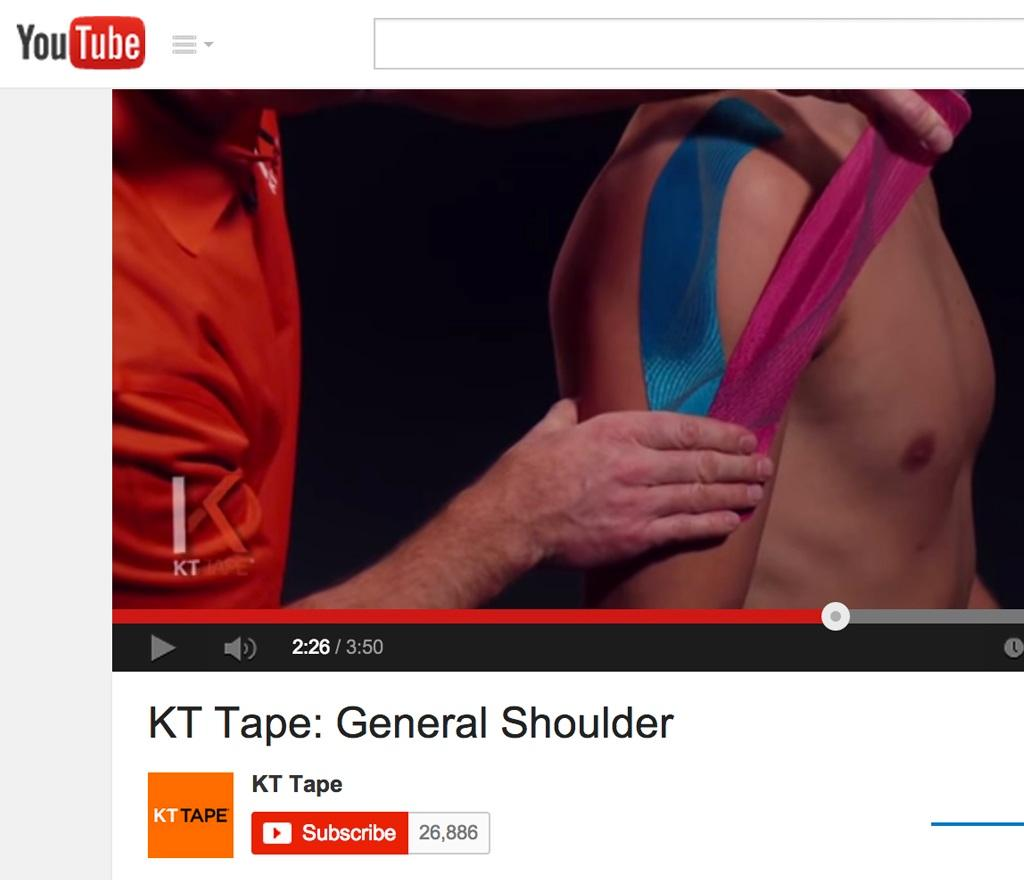 Buy Kt Tape Pro Synthetic 20 Strip Sonic Blue Online At Low Prices