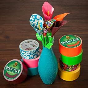 Glues, Epoxies & Cements Duck 283268 Colored Duct Tape Love Tie Dye To Adopt Advanced Technology