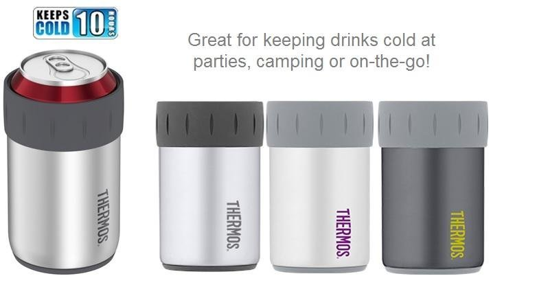 Amazon Com Thermos Stainless Steel Beverage Can Insulator