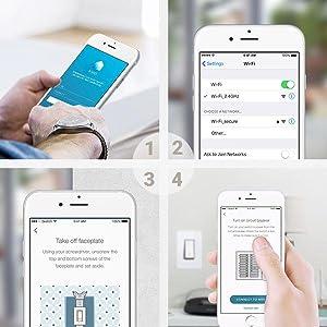 Kasa Smart Wi Fi Light Switch By Tp Link Control