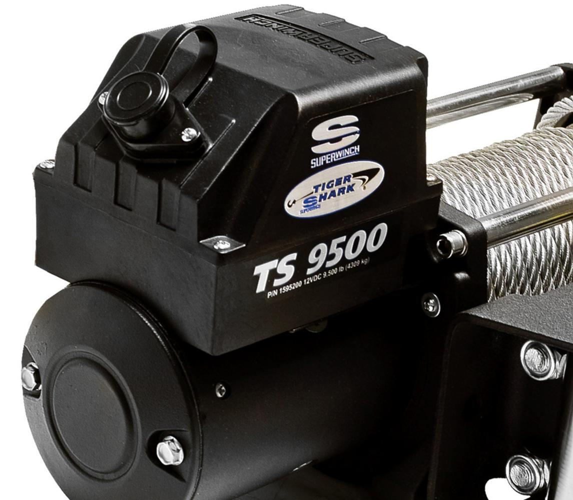 Superwinch 1595200 Tiger Shark 95 12 Vdc Winch 9500 How To Wire Up A Warn M8000 With Four Solenoids View Larger