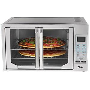 oster toaster oven with french door capacity