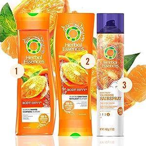 herbal essences shampoo, volumizing shampoo, hair shampoo