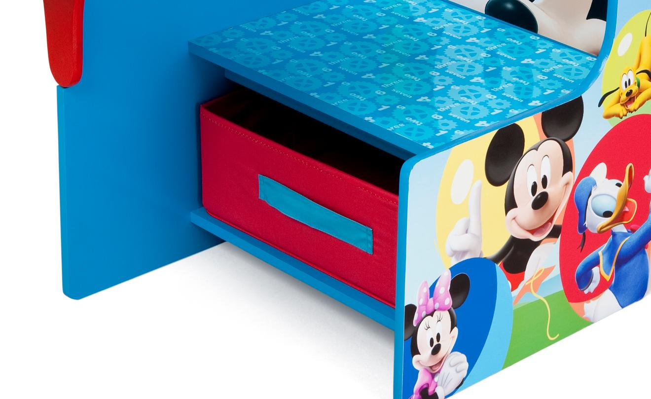 Amazoncom Delta Children Chair Desk With Storage Bin Disney
