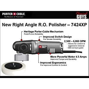 porter cable, chemical guys porter cable, porter cable kit, car polisher kit