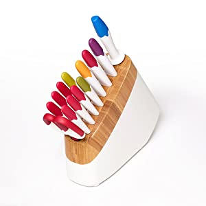 reo, cutlery, knife sets, knife blocks, knives, ceramic knives, colored knives