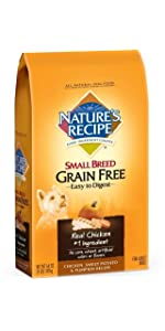 small breed grain free dog food
