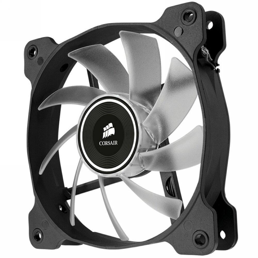 Corsair Air Series AF120 LED Quiet Edition High Airflow Fan Twin Pack - Red