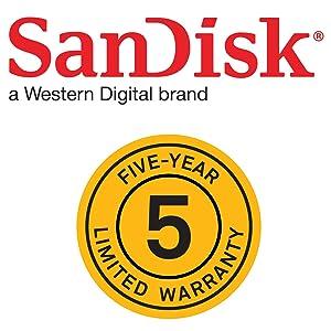 5yr. warrenty logo