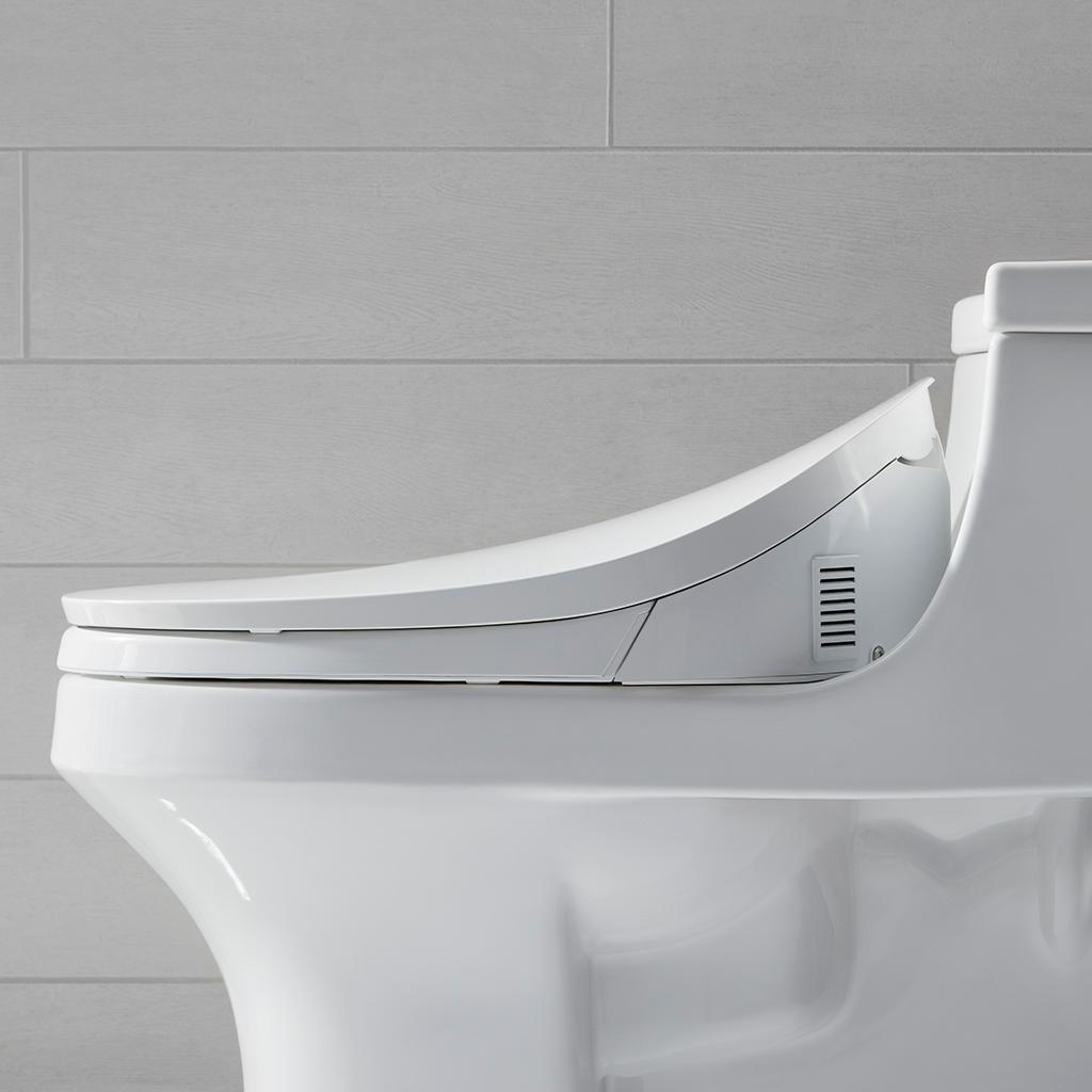 KOHLER K-4108-0 C3 230 Elongated Bidet Toilet Seat with