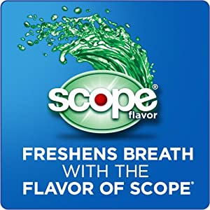 Freshen Break with the Flavor of Scope - secure denture adhesive, denture glue