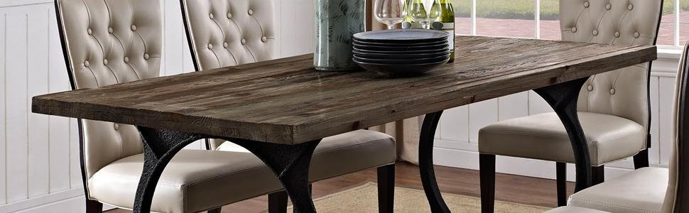 Dinner, Dining, Table, Farmhouse, Wood, Rustic, Rectangle, Rectangular,
