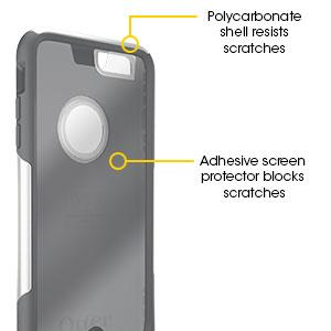 otterbox iphone 6 plus screen scratch protection