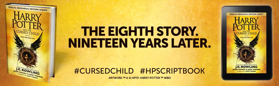 Harry potter and the cursed child parts one and two the official from the publisher fandeluxe Choice Image