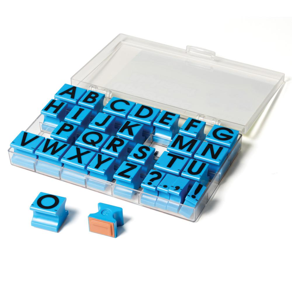 Amazon Educational Insights Alphabet Rubber Stamps