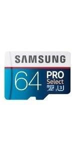 Amazon.com: Samsung 256GB 95MB/s MicroSDXC EVO Select Memory ...