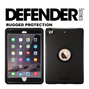 low priced 51527 501f7 OtterBox DEFENDER SERIES Case for iPad Mini 1/2/3 - Retail Packaging - BLACK