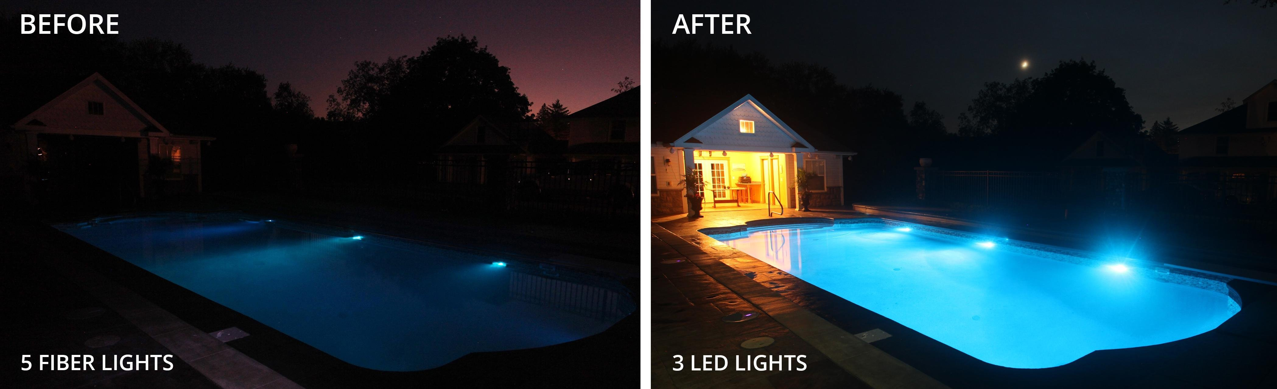SRSmith 1TR-PT-6000 with 1 Treo LED Color Pool Light with 80\' Cord &  Wireless Remote
