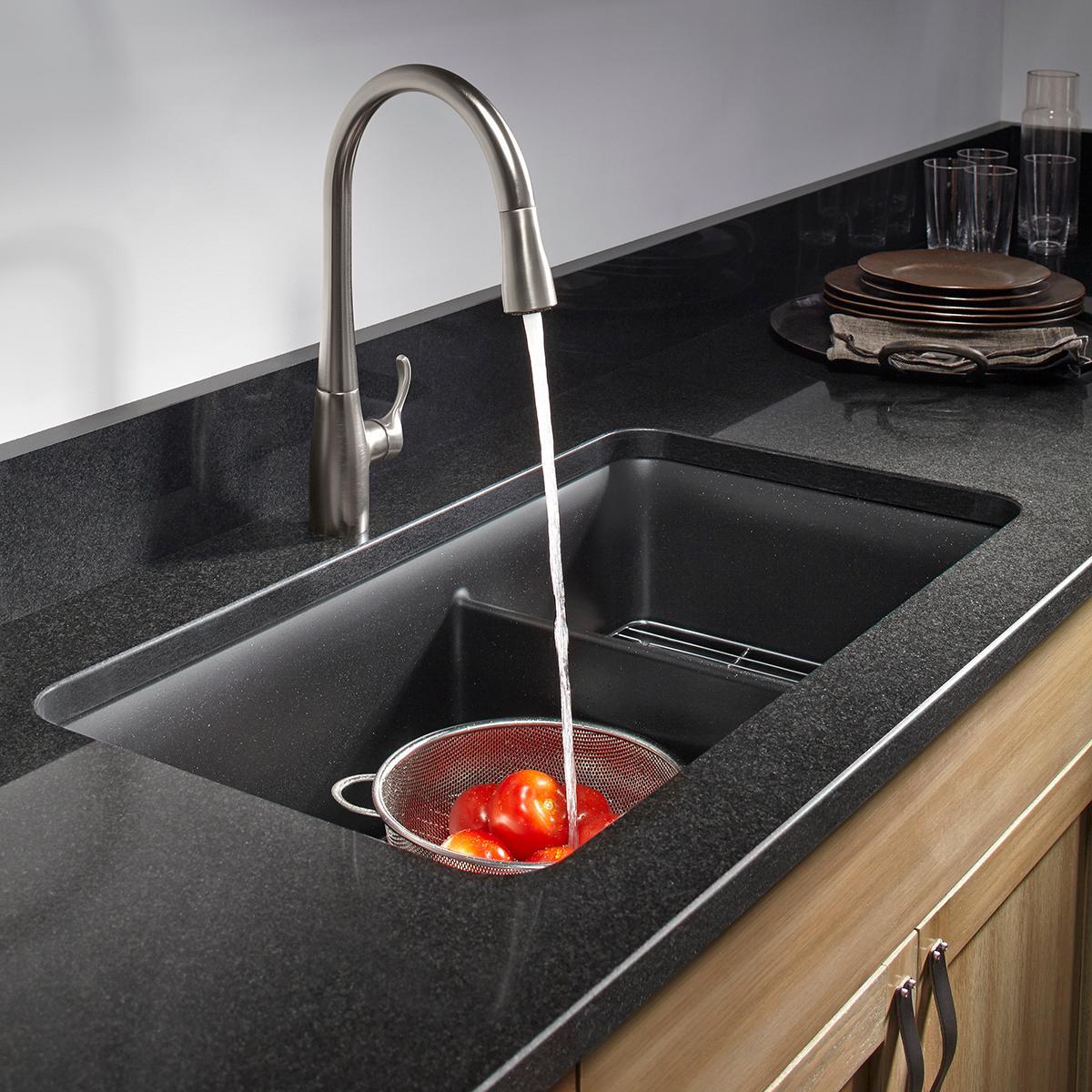 Kohler K 8204 Cm1 Cairn Undermount Double Bowl Kitchen