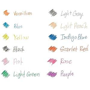 Prismacolor Col-Erase Erasable Colored Pencils - Vibrant Pigments