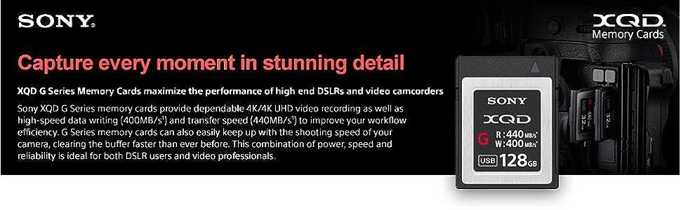 Sony XQD G Series Memory Cards