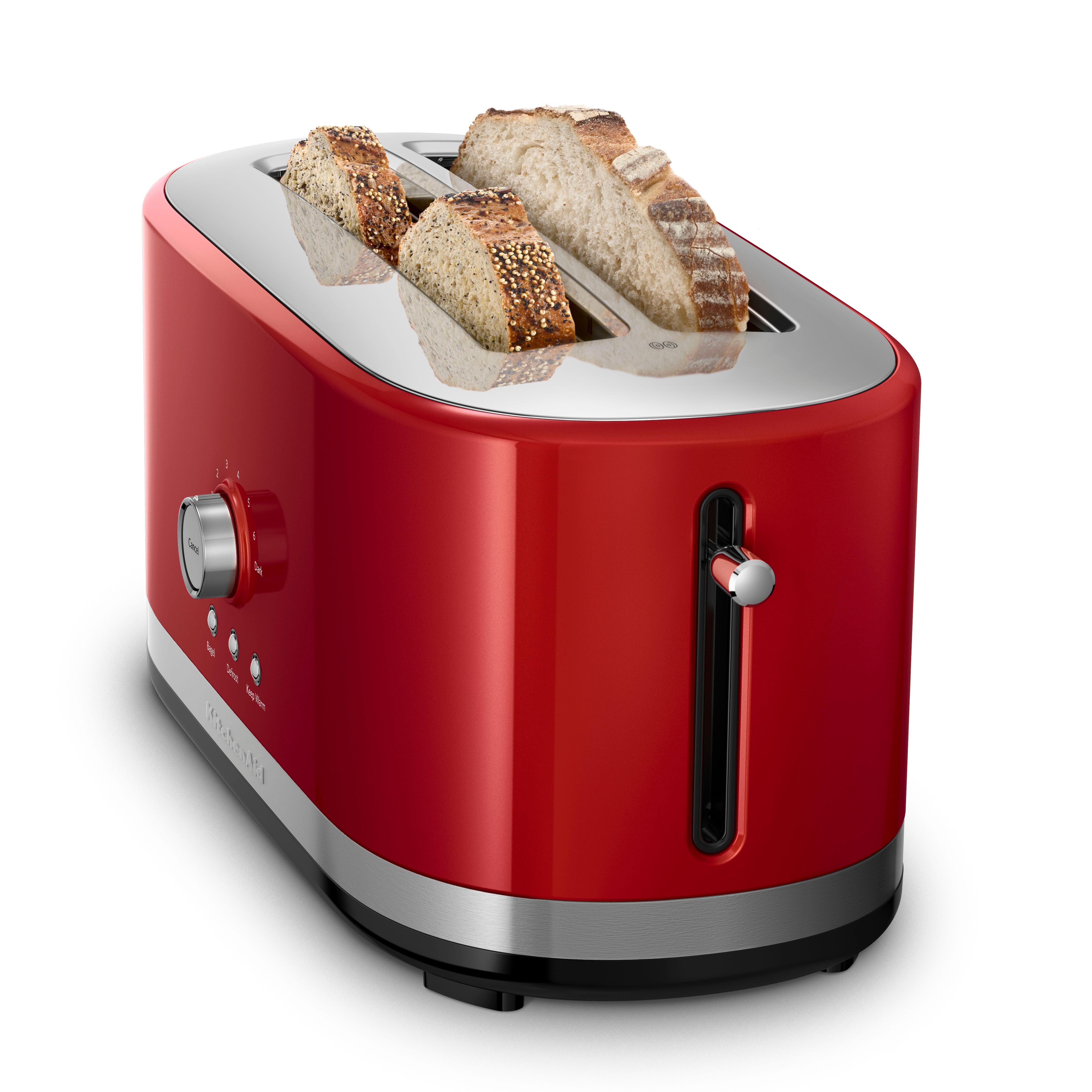 Kitchenaid Kmt2116er 2 Slice Slot Toaster With High Lift Lever Empire Red