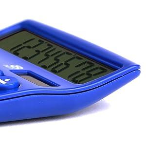 calculator, large digits, 8 digit, desktop calculator, large display, tilted display