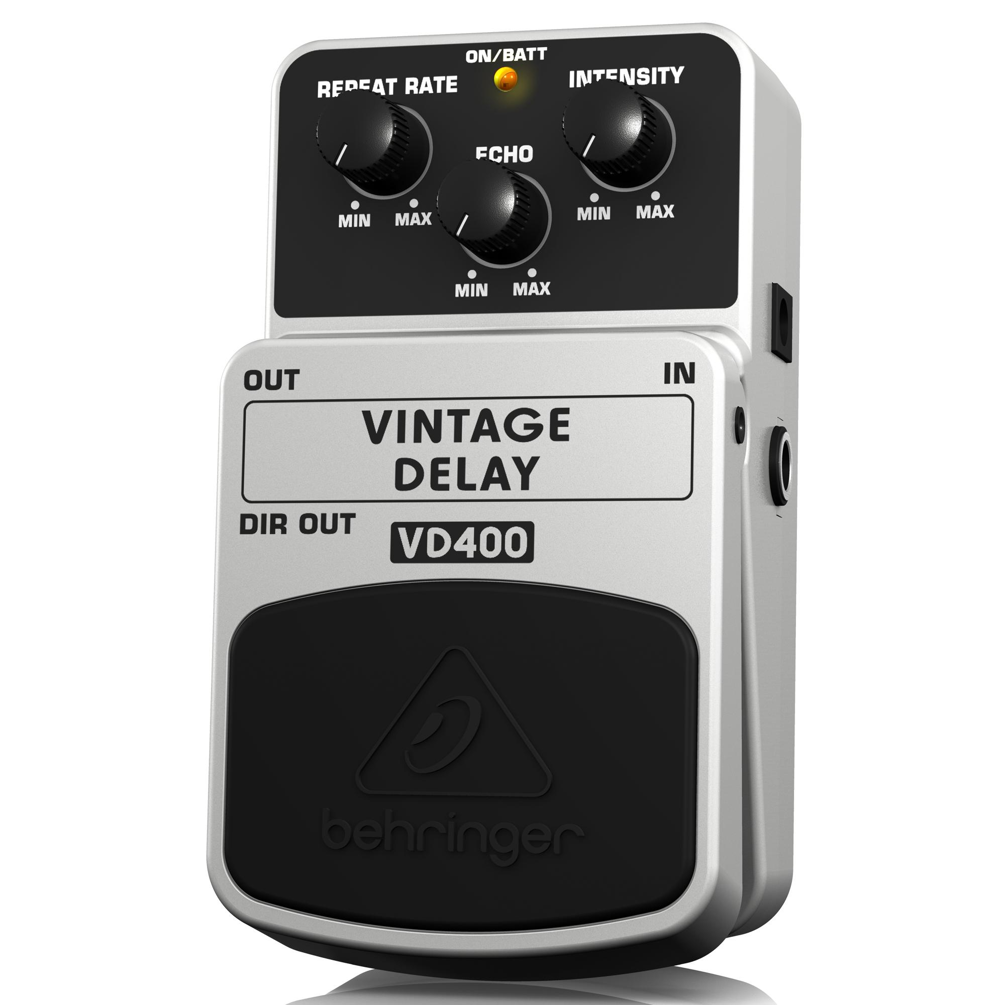 behringer vd400 vintage analog delay effects pedal musical instruments. Black Bedroom Furniture Sets. Home Design Ideas