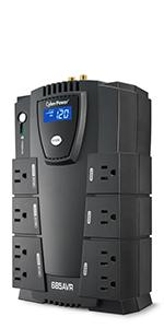 CP825AVRLCD Battery Backup UPS