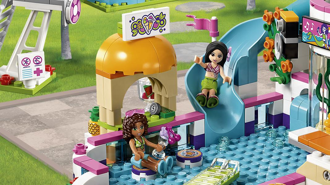 Lego 41313 Friends Heartlake Summer Pool Party Set Lego