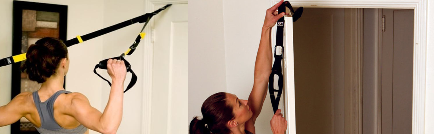 Ready in 60 Seconds & TRX Training - Suspension Trainer Basic Kit + Door Anchor Complete ...