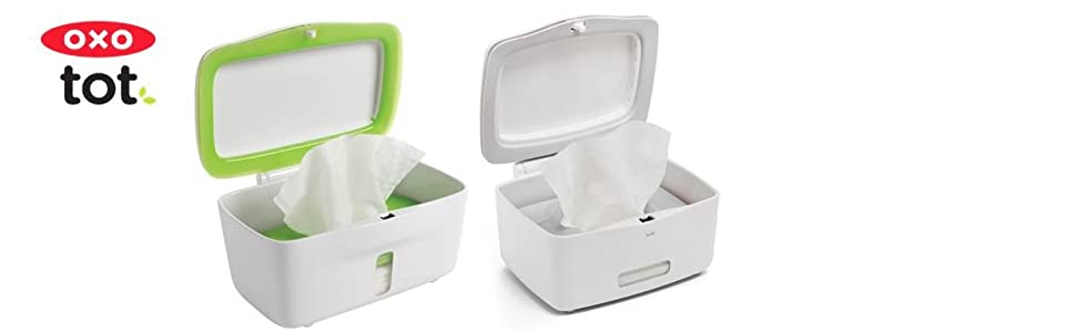 Oxo Tot Perfect Pull Wipes Dispenser Green Amazon Ca Baby