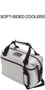 AO Coolers Carbon Soft Cooler