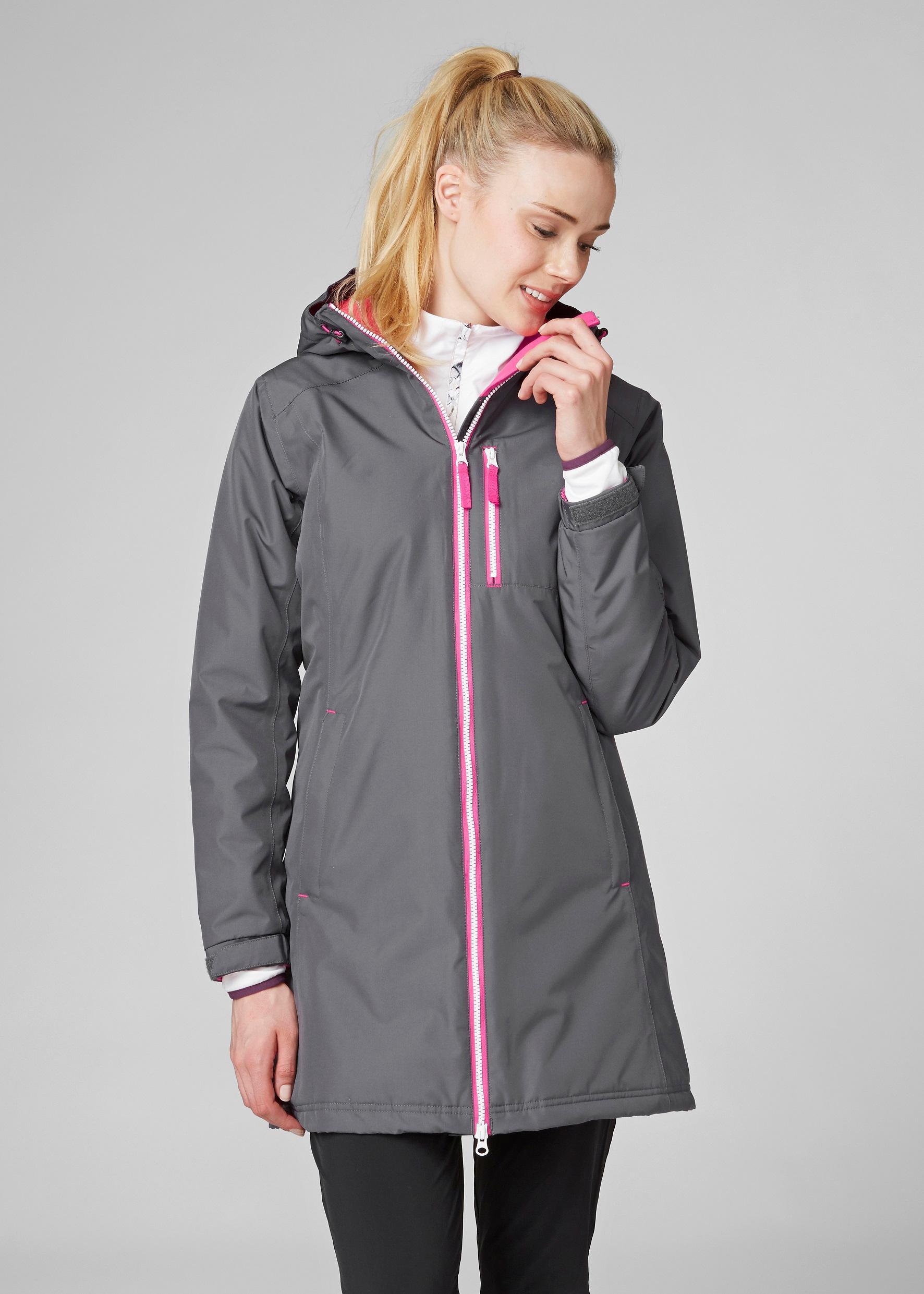 f4449eeaf Helly Hansen Women's Long Belfast Winter Rain Jacket