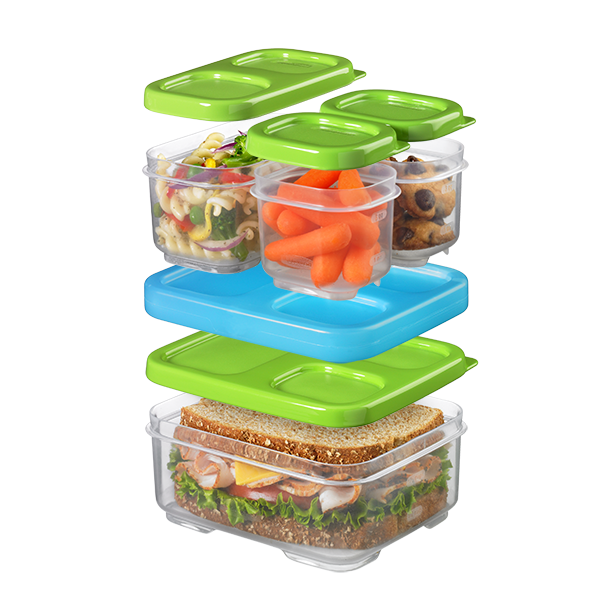 Rubbermaid Lunchblox Sandwich Kit Food Storage Container